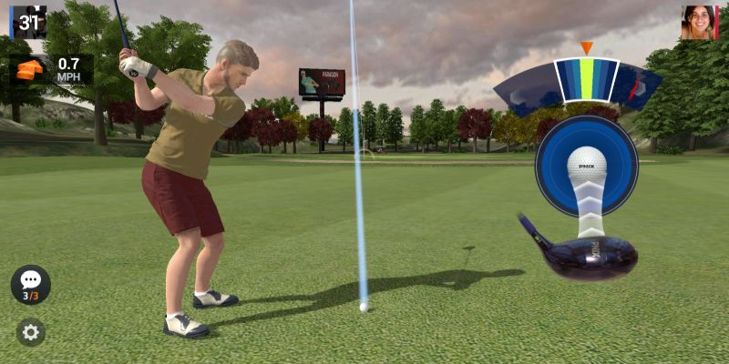 how to get perfect timing in golf king world tour