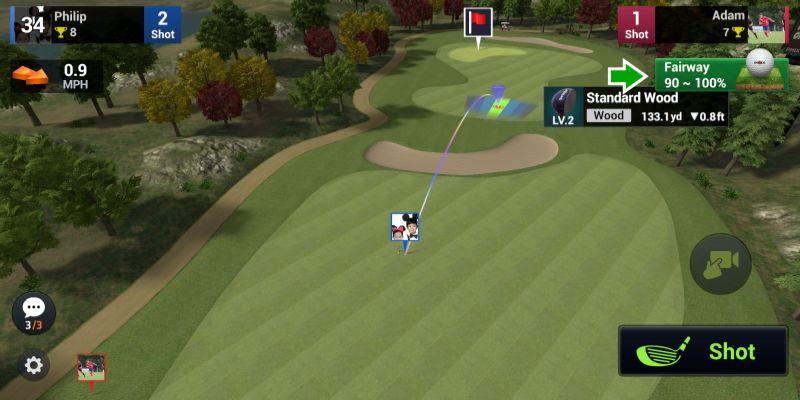 golf king world tour strategies