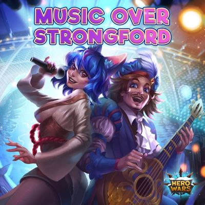 hero wars music over strongford event