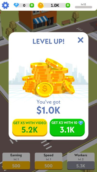how to level up fast in idle construction 3d