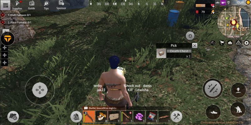 how to reclaim dropped items in last day rules survival