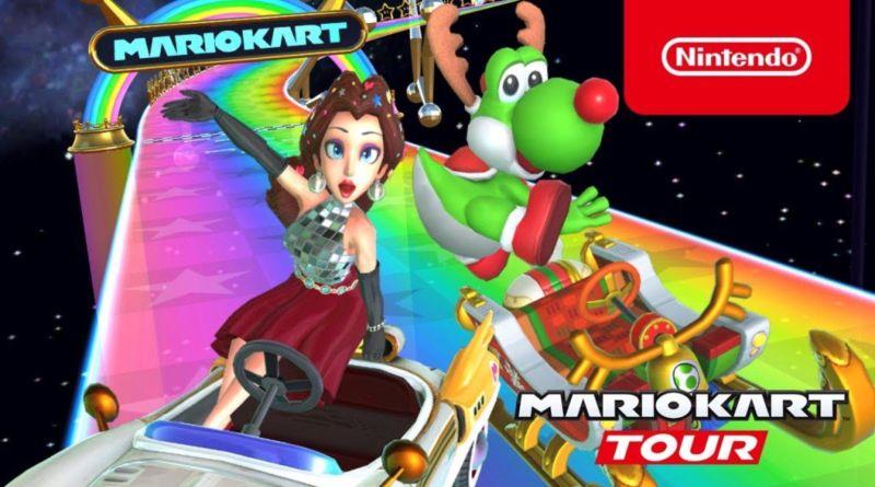 mario kart tour holiday tour