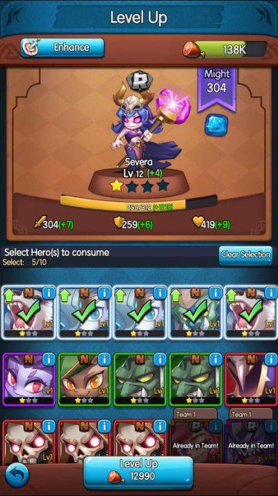raids & puzzles elements