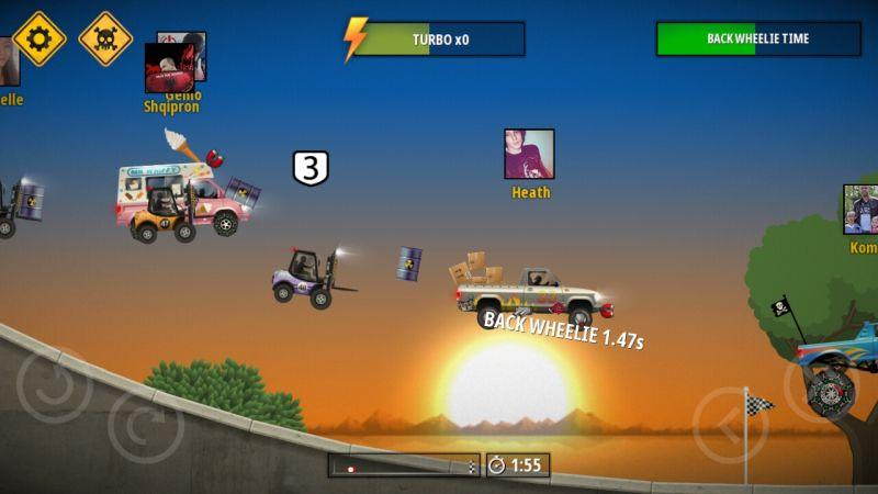 renegade racing tricks