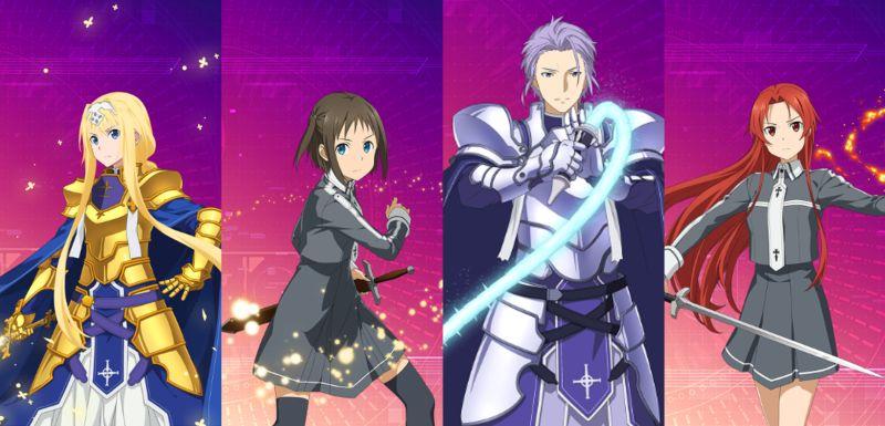 sword art online alicization rising steal all-around team