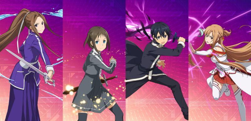 sword art online alicization rising steel cathedral team