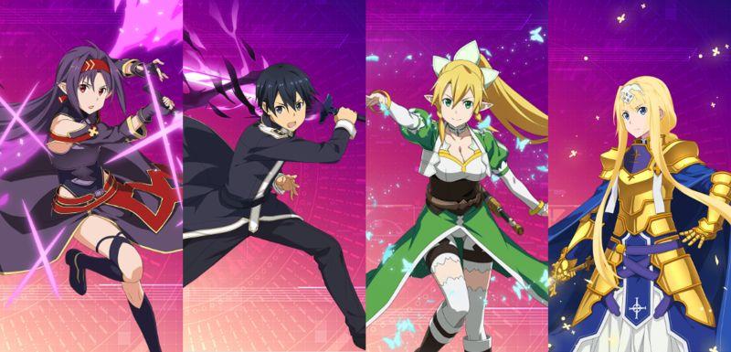 sword art online alicization rising steel ordinal battle team
