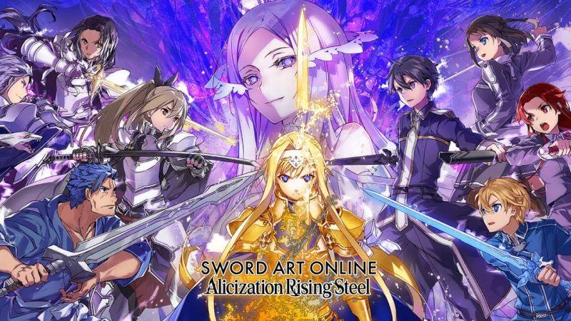 sword art online alicization rising steel teams