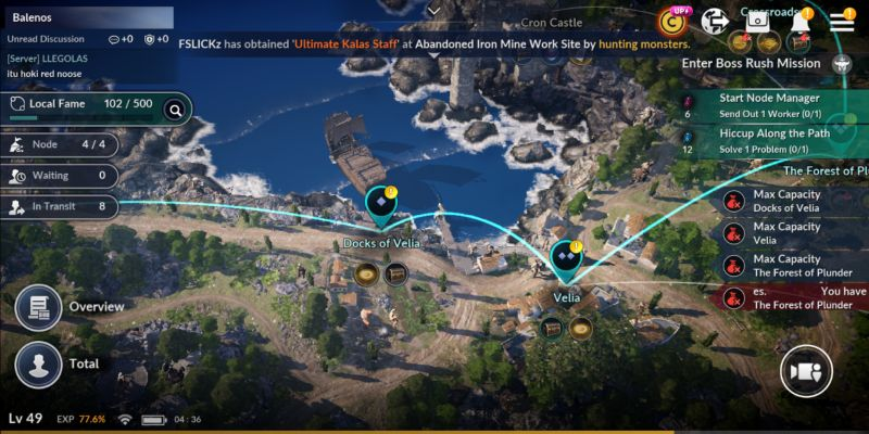 black desert mobile quests and notifications