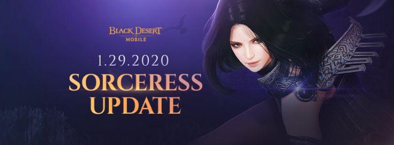black desert mobile sorceress update