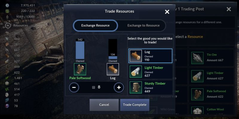 how to use the trading post in black desert mobile