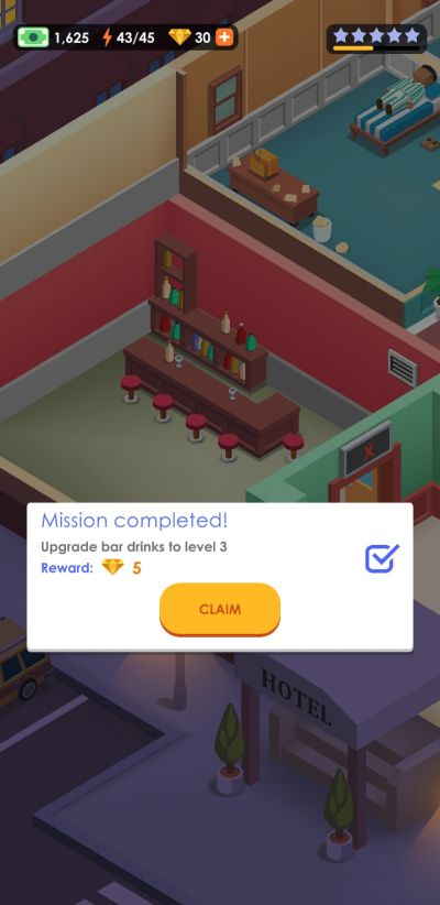 hotel empire tycoon missions