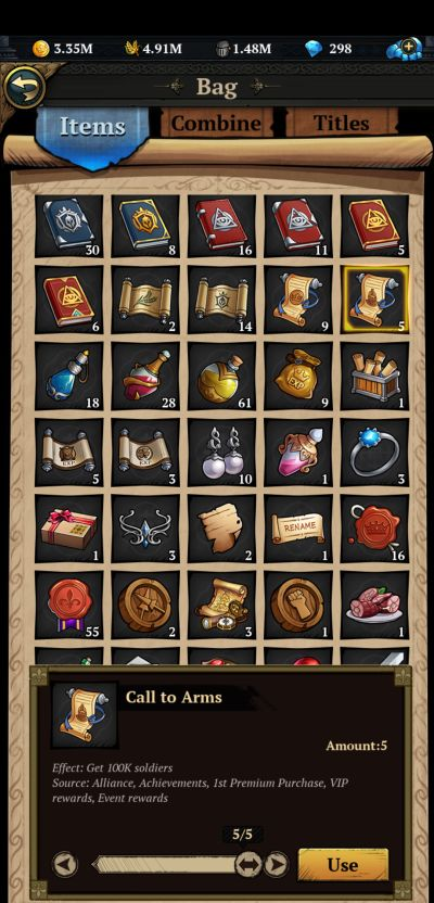 king's throne game of lust items