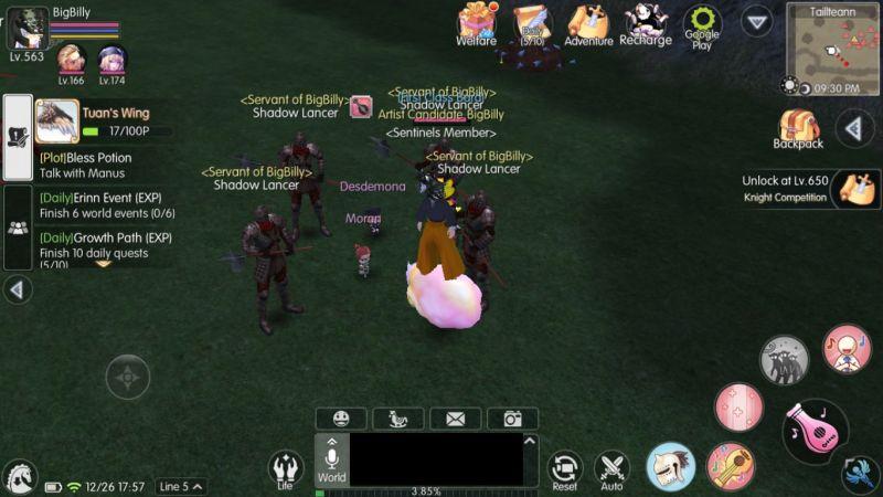 mabinogi fantasy life bard army