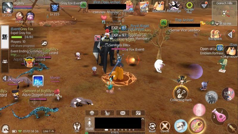 mabinogi fantasy life erinn events