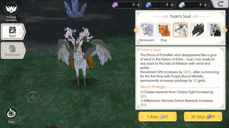 mabinogi fantasy life tuan's soul mount