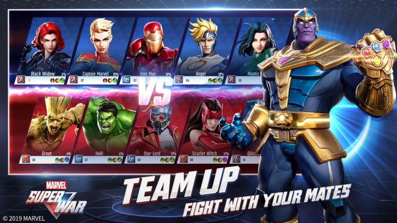 marvel super war heroes
