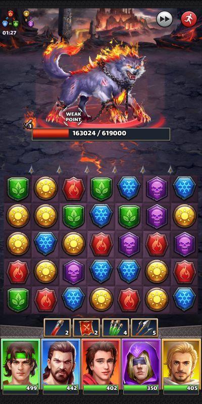 mythwars & puzzles alliance