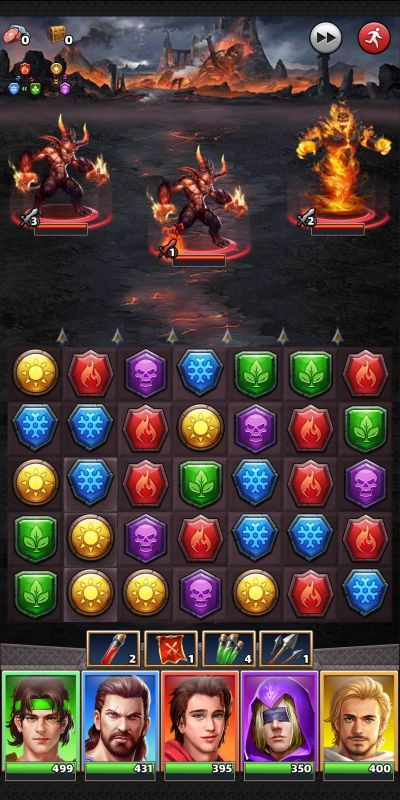 mythwars & puzzles strategies