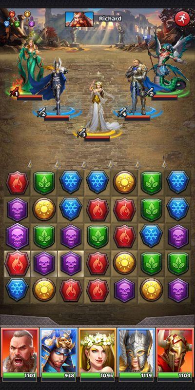 mythwars & puzzles tactics