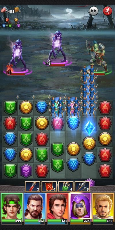 mythwars & puzzles tricks