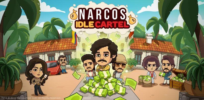 narcos idle cartel pre-registration