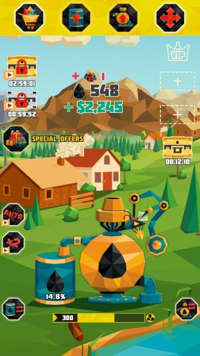 how to get more diamonds in oil tycoon gas idle factory