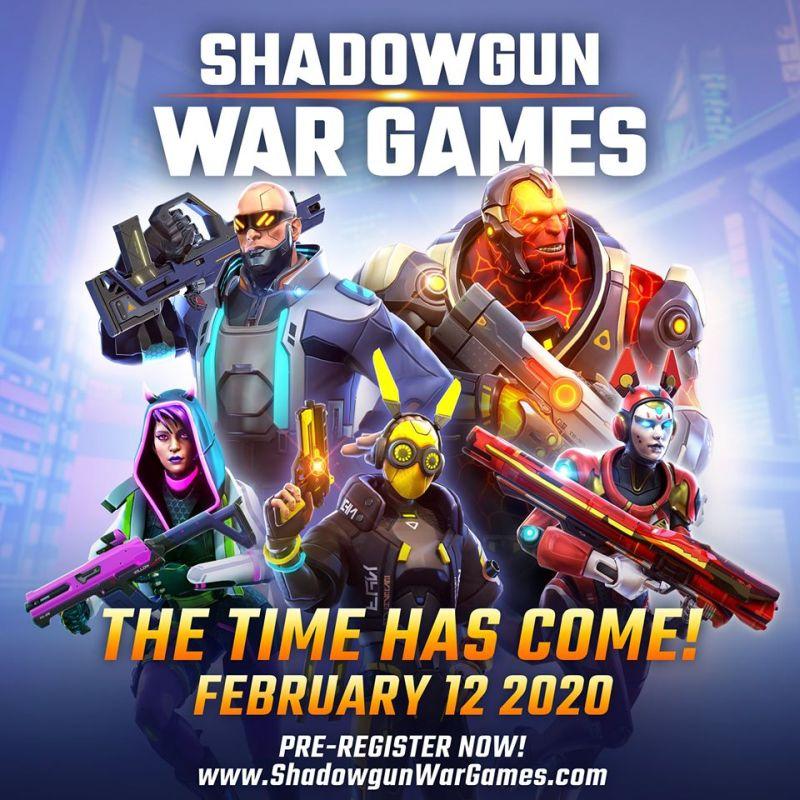 shadowgun war games pre-registration