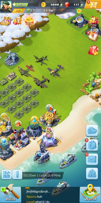 how to maximize space in top war battle game