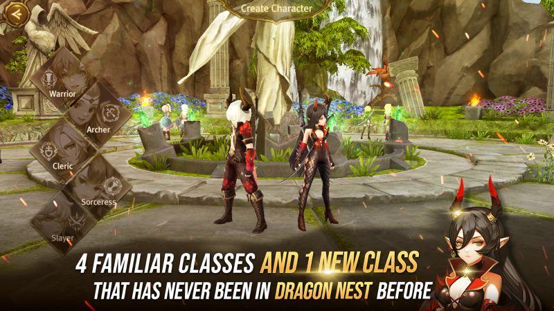 world of dragon nest gameplay