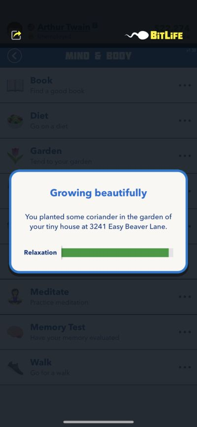 how to plant coriander in bitlife