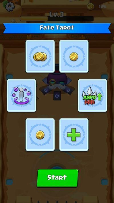bybye monster tarot card selector