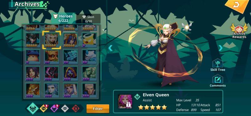 calibria crystal guardians elven queen