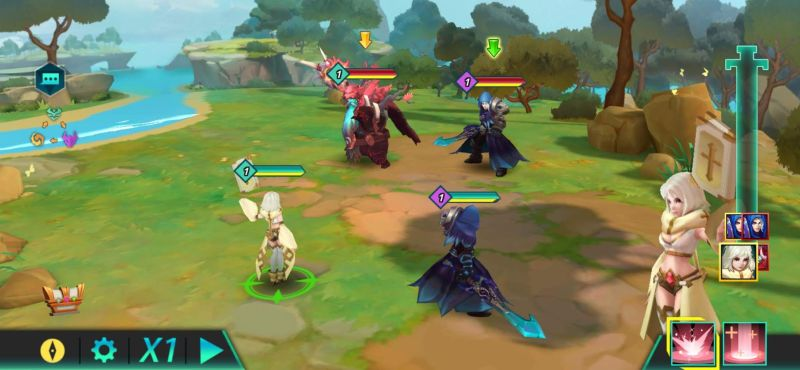 calibria crystal guardians faction mechanic