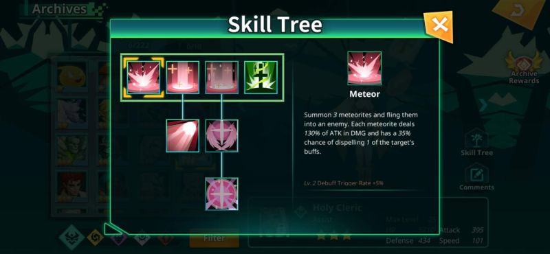 calibria crystal guardians skill tree