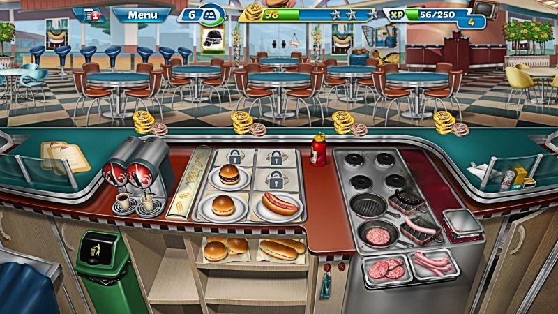 how to avoid burning food in cooking fever