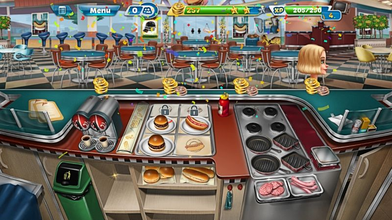 how to keep customers happy in cooking fever