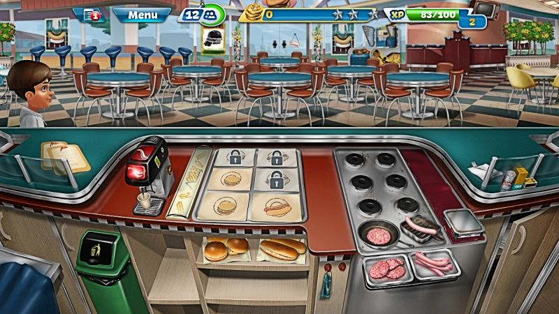 how to prepare food in cooking fever