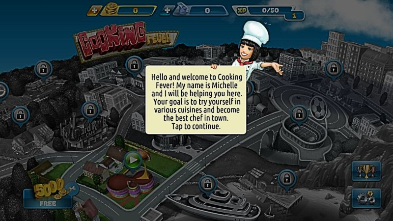 cooking fever tutorial