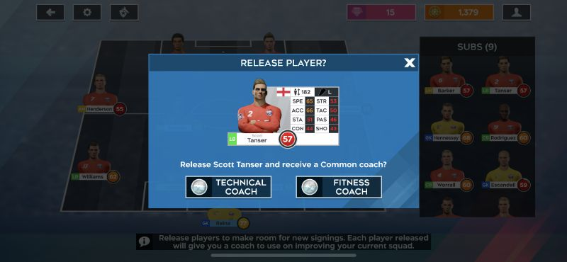 how to release a player in dream league soccer 2020