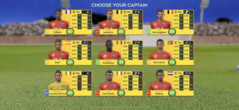 dream league soccer 2020 team captain