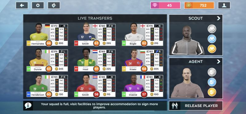 dream league soccer 2020 transfers