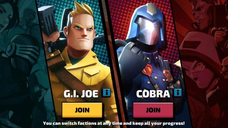which side to choose in gi joe war on cobra