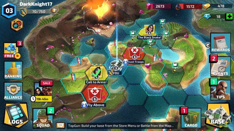how to use the map in gi joe war on cobra