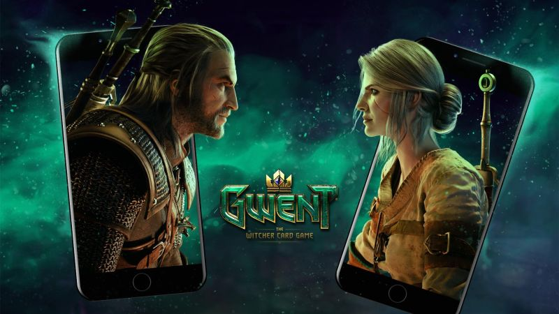 gwent the witcher card game pre-registration
