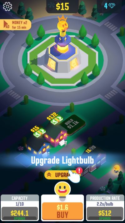 idle light city tips
