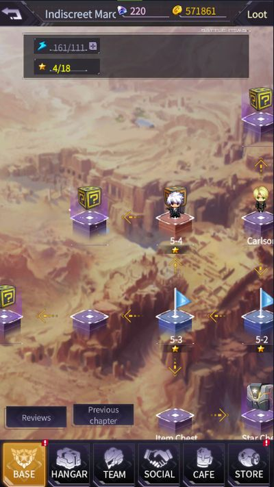 iron saga base