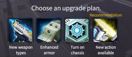 iron saga mech upgrade plan