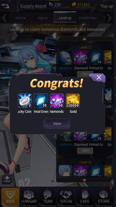 iron saga rewards