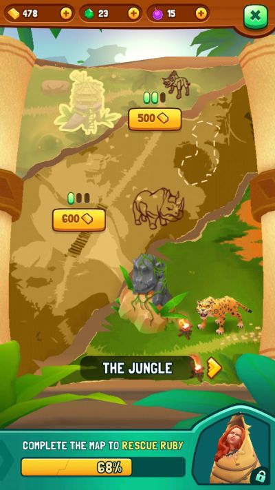 jumanji epic run map